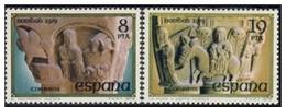España 1979 Edifil 2550/1 Sellos ** Christmas Navidad San Pedro Del Viejo (Huesca) El Nacimiento Y La Huida A Egipto - 1971-80 Neufs