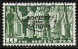 SWITZERLAND   Scott #  2-O-67  VF USED - Used Stamps
