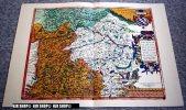 Bayern Um 1600, Alter Lichtdruck Um 1920 Choloriert - Landkarten