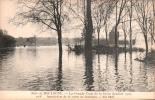 75 BOIS DE BOULOGNE LA GRANDE CRUE DE LA SEINE JANVIER 1910 INONDATION DE LA ROUTE DE SURESNES PAS CIRCULEE - Other