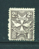 MALTA  -  1925  Postage Due  2d  Used As Scan - Malta (...-1964)