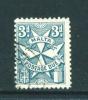 MALTA  -  1925  Postage Due  3d  Used As Scan - Malta (...-1964)