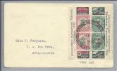 SÜDAFRIKA 1936 Brief Mit 2 Blockstreifen Selten - Afrique Du Sud (1961-...)