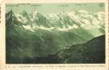 CHAMONIX (Hte-Savoie) - La Chaîne Des Aiguilles Et Le Massif Fu Mont-Blanc Vus De La Flégère - Chamonix-Mont-Blanc