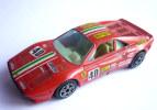 VOITURE - AUTOMOBILE -  BURAGO - FERRARI GTO ROUGE AGIP - 1/43 �me