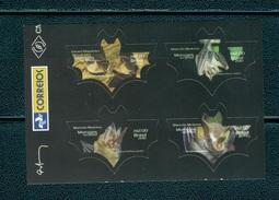 Brazil 2010-Chauve Souris/Bats Self-adhesive (4v )** à 1/3 Du Cote - Brazil