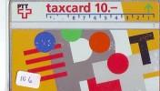 Télécarte SUISSE * P-Taxcard * Private Phonecard (106) Private Card * TELEFONKARTE SCHWEIZ  SWISS * SWITSERLAND - Svizzera