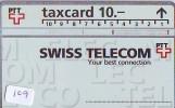 Télécarte SUISSE * P-Taxcard * Private Phonecard (109) Private Card * TELEFONKARTE SCHWEIZ  SWISS * SWITSERLAND - Zwitserland