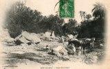 Algérie  (M´Sila) BOU-SAADA, Dans La Rivière  (animation- Editions :Geiser Phot.Alger N°47)   *PRIX FIXE - M'Sila