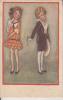 MAUZAN SERIE N°349-2 VIAGGIATA X CAMBIANO 1921 ORIGINALE 100% - Mauzan, L.A.