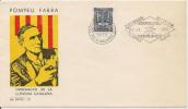 FDC ANDORRE 1975  POMPEU FABRA ANDORRE FR - FDC