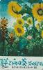 Télécarte Japon - Fleur TOURNESOL - SUNFLOWER Japan Phonecard - Sonnenblume Blume Telefonkarte - 1549 - Fleurs