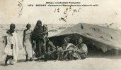 CPA SOUDAN CAMPEMENT MAURE DANS UNE REGION DE SABLE 1906 - Sudan