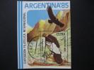 "CUBA  1985   ""ARGENTINA  ´85""   INTERNATIONAL  STAMP  EXHIBITION    MINIATURE  SHEET - Unclassified"