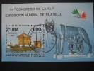 "CUBA  1985   ""ITALIA  ´85""  STAMP  EXHIBITION    MINIATURE  SHEET - Unclassified"
