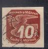 Bohême - Moravie 1939, YT J 5 O - Bohemia Y Moravia