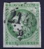 """YT 42B """" Cérès émission De Bordeaux 5c. Vert-jaune """" 1870 Losange 2145D - 1870 Bordeaux Printing"""