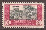 CJ169-A536CG.Maroc.Marocco.Comercio.CABO JUBY  ESPAÑOL SELLOS DE MARRUECOS 1935/6  (Ed 169**) Sin Charnela.MAGNIFICO. - Cape Juby