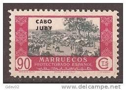 CJ169-A536TC-CG.Maroc.Mar Occo.Comercio.CABO  JUBY  ESPAÑOL SELLOS DE MARRUECOS 1935/6  (Ed 169**).MAGNIFICO. - Sin Clasificación