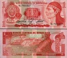 HONDURAS 1L.1984 P68 LEMPIRA RUINS UNC - Honduras