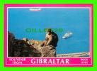 GIBRALTAR - GIBRALTAR ROCK APES - MONKEY & SHIPS - - Gibraltar