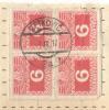AUSTRIA - CROATIA - DALMATIA - METKOVIC - PORTO BLOCK Of FOUR - 1917 - Postage Due