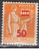 FR 988** YVERT 481**TIMBRES SURCHARGÉ, 50 C. SUR 80 C.**1940-41**NEUF** - France