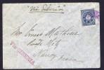 Lettre  Pour La France Via Sibérie - Briefe U. Dokumente