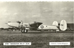 "AVRO  "" Shackleton   MK II ""  ( G.B. )  Carte Photo  9x14. - 1946-....: Moderne"