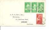 Inde ( Lettre De 1954 Vers L'Ecosse à Voir) - Lettres & Documents