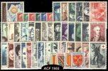 FRANCE .  ANNEE 1955 COMPLETE NEUFS ** TB . COTE 259 € - Verzamelingen