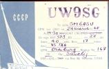 QSL - USSR -- CCCP Moskow 1968 - Cartes QSL