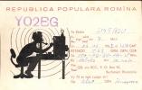 QSL - Romina - Roemenie - Radio Bucharest Roumania 1958 - Cartes QSL