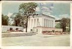 QSL - Sofia Mausolée Georges Dimitrov - Bulgaria 1957 - Cartes QSL