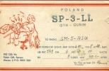 QSL - Poland QTH - Gubin - Warsav  - 1958 - Cartes QSL