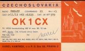 QSL - Radio - Karl Kaminek Praha - Czechoslovakia  1965 - Cartes QSL