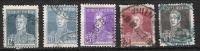 Argentine 1923 -  N°303, 304 Et N° 306 à 308 Oblitérés  Cote 1,10€ - Unclassified