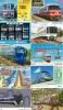 JOLI LOT De 90 CARTES PREPAYEES DIFFERENTES Japon (LOT 213)  TRAIN * DIFFERENT Japan CARDS * ZUG KARTEN - Telefonkarten