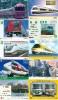 JOLI LOT De 90 CARTES PREPAYEES DIFFERENTES Japon (LOT 221)  TRAIN * DIFFERENT Japan CARDS * ZUG KARTEN - Collections