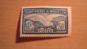 St. Pierre And Miquelon  1922  Scott #98  Mint Not Hinged - St.Pedro Y Miquelon