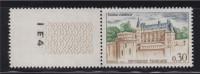 Série Touristique Château D´Amboise 30c N°1390, Avec BdF Guillochi Et Numéro I E4 - France