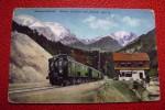 Mittenwaldbahn Station Hochairl Solst  Mittenwald POSTA  MILITARE WW1  GERMANIA AUSTRIA  TRENO TRAIN - Funiculaires