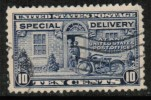 U.S.A.   Scott #  E 12  VF USED - Special Delivery, Registration & Certified