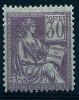"YT 115 "" Mouchon Type I 30c. Violet "" 1900-01 Neuf * - 1900-02 Mouchon"