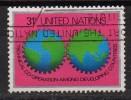 Nations Unies - New York - 1978 - Yvert N° 295  - Coopération Technique Des Pays En Voie De Développement - Oblitérés