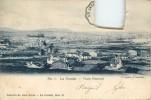 LA CORUNA VISTA GENERAL CARTE BETEMENT AMPUTEE DE SON TIMBRE - La Coruña