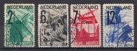 NL 1932 Set Of 4 Charity Stamps Tourism Fine Used - Oblitérés