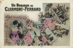 63 CLERMONT FERRAND UN BONJOUR PHOTO STYLE REUTLINGER - Clermont Ferrand