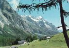 Italia,   Val D'Aosta >  Aosta, Courmayeur, La Visaille, Sullo Sfondo Les Grandes Jorasses, Circolato No - Aosta