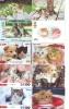 LOT 50 Telecartes + Prepayees Differentes Japon * CHATS * CATS  * KATZE * KATTEN (LOT 230) Prepaid Cards Japan - Telefonkarten